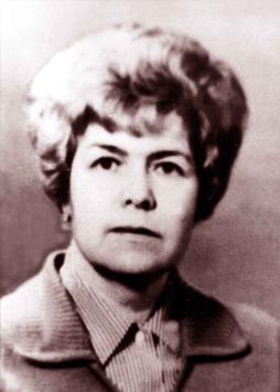 ГОРОХОВА АЛЕВТИНА ИВАНОВНА, с 1972 года